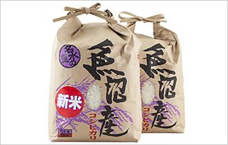 魚沼産コシヒカリ2kg×2袋